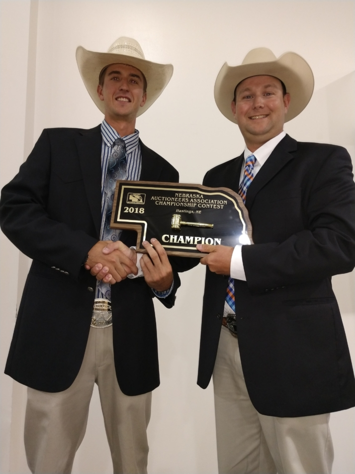 Neil Bouray- Champion Auctioneer 2018