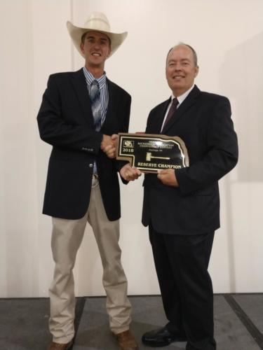 Scott JarmanReserve Champion Auctioneer 2018