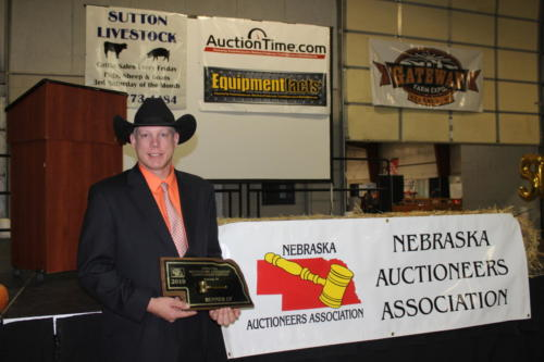 Mark Kliewer 2019 Runner Up Auctioneer